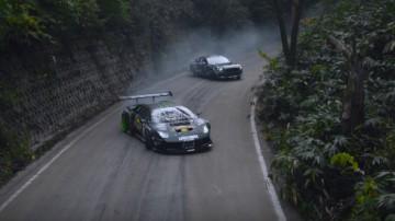 Lamborghini Murcielago And Mustang GT Drift Shootout