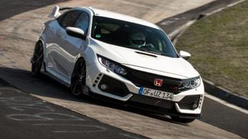Honda Civic TypeR Nurburgring Time AttackApril 2017Worldwide Copyright:  ? Patrick Gosling, Chris Brown/ BeadyeyeFilename: 170403_CivicTypeR_TimeAttack _275.cr2