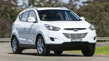 All Hyundai ix35s are fitted with a timing chain.