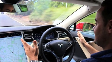 Mobileye worked on self-driving cars with Tesla before cutting ties with the brand.