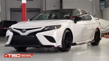 Toyota teases TRD Camry
