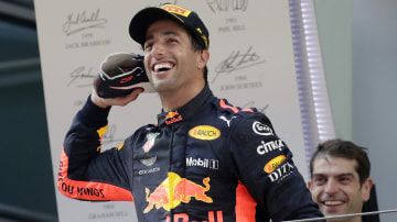 Ricciardo shuts down Ferrari rumours in Baku