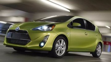 Toyota has given its Prius C hybrid a slight cosmetic upgrade.