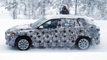 Spy photographers have snapped the BMW FAST prototype during testing. Source: Automedia.