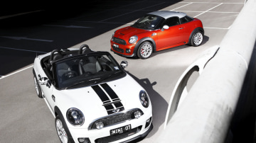 MINI Coupe And Roadster On Sale In Australia