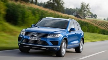 The Volkswagen Touareg stands out from the pack with a refined finish and driving characteristics.