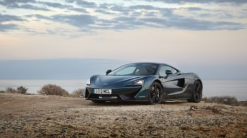 British supercar maker puts its spin on the Grand Tourer with the new McLaren 570GT.