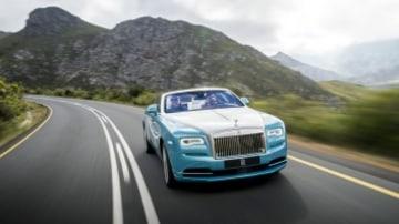 Rolls-Royce Dawn. Western Cape, South Africa.  Photo: James Lipman Rolls-Royce Dawn
