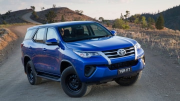 New seven-seat Toyota Fortuner is priced from under $50,000.