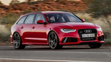 There is also the Audi RS6 for those cyclists that also have a bit of petrol running through their veins.
