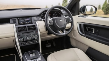The interior is a blend of luxury and practicality.