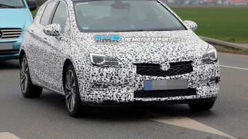 All-New Holden Astra Spied Testing