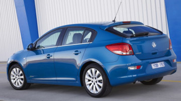 Holden has introduced a hatchback version of its Cruze small car.
