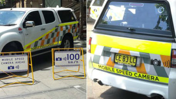 NSW Mobile Speed Cameras Now Brighter With More Signage