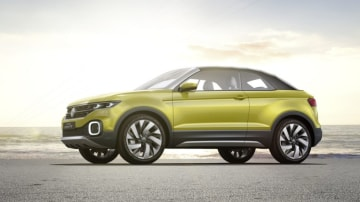 Volkswagen is set to introduce a baby SUV based on the T-Cross concept.