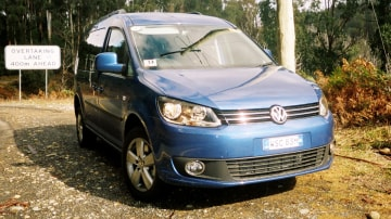 2011 Volkswagen Caddy Maxi Life 4Motion and Caddy Maxi Van 4Motion Review