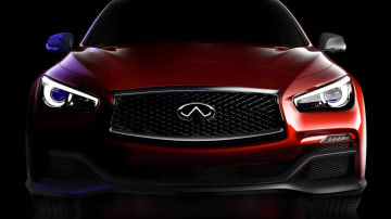 Infiniti Q50 Eau Rouge Concept Coming, Teases Performance Model