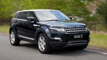 Range Rover's Evoque has a plush cabin and exterior looks to match.