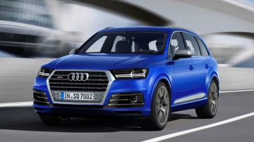 Audi SQ7 REVIEW - First Drive Of 2017 Diesel Performance SUV