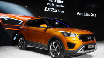 Hyundai's ix25 concept could spawn a production baby SUV.