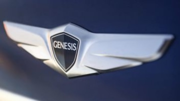 Hyundai has created a new badge for the Genesis, with only one Hyundai logo on the car.