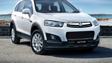 Holden Captiva Active: New $31,990 Special Edition Lands