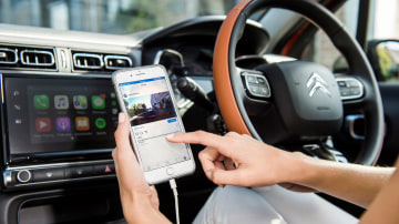 2018 Citroen C3 ConnectedCam app.
