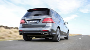 The GLE 500 has fine on-road manners.