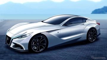 CGI render of next Z car by Spyder 7