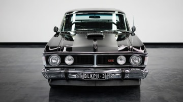 Star attraction: the Gosford museum features a rare Onyx black Ford Falcon GTHO Phase 3.