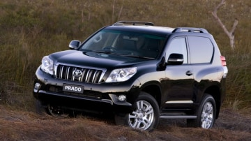 2010 Toyota Prado Five-Door