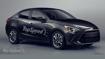Rendered: Toyota's Mazda2-based Scion iA Sedan