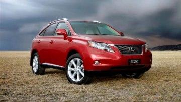 15,000 Lexus RX Models Sold In Australia