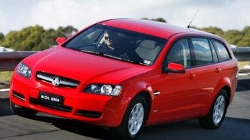 2008 Holden Omega Sportwagon.
