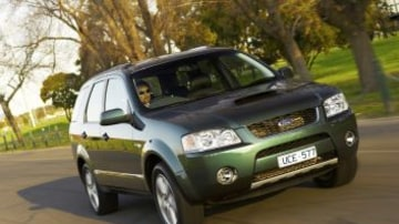 Picture supplied for publicity purposes. Picture shows : a Ford SY Territory Ghia Turbo 21.06.2006.