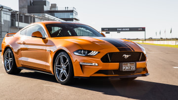 Ford Mustang GT for road test rivals