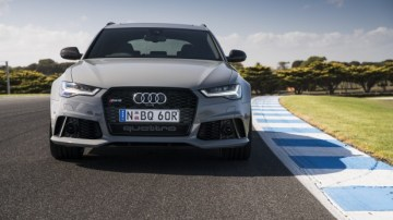Audi RS6 Avant at Phillip Island