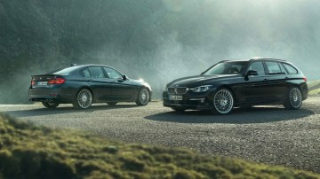 2018 BMW Alpina B3 S and B4