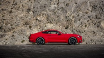 The Mustang EcoBoost offers turbocharged performance.
