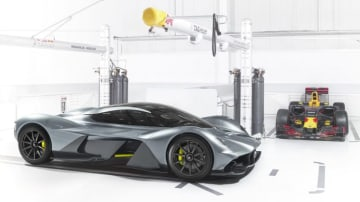 Aston Martin and the F1 team Red Bull Racing have created the Valkyrie - formerly known as the AM-RB 001.