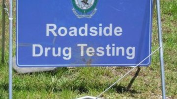 19.12.2014 - 1,500 truck drivers tested in random drug-testing operation Marulan. Photos: NSW Police RDT road sign.jpg