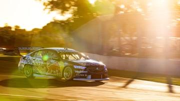 Shane van Gisbergen won race two in Townsville.