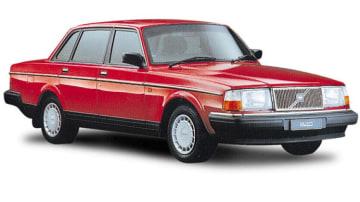 1974 Volvo 240.