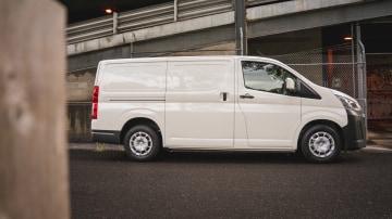 2019 Toyota HiAce LWB diesel manual