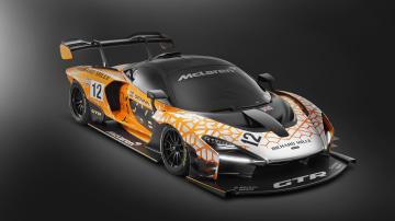 McLaren unveils extreme Senna GTR