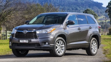 The Toyota Kluger.