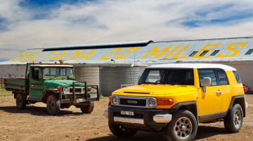 Can Toyota's retro-styled FJ Cruiser live up to its1960s-era predecessors the FJ40 and FJ45.