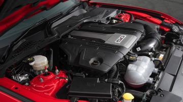 2018 Ford Mustang 5.0-litre V8 engine.