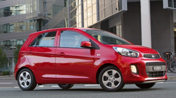 The 2016 Kia Picanto is the most affordable model in Kia's Australian line up.