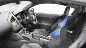 Audi R8 LMX interior.